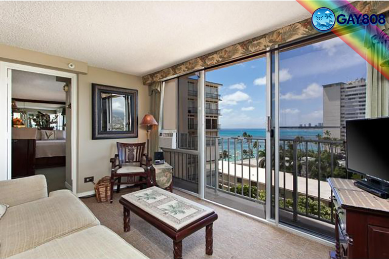 Ocean view 1 Bedroom Suite w/Full Kitchen