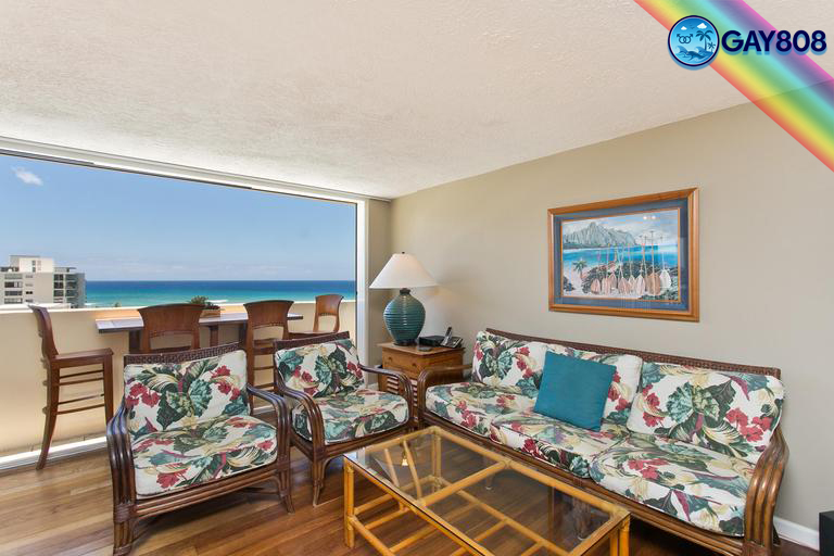 2 Bedroom Oceanfront Penthouse w/Full Lanai